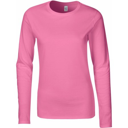 Softstyle® Ladies` Long Sleeve T-Shirt von Gildan (Artnum: G64400L