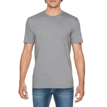 Softstyle Adult EZ Print T-Shirt in Gravel von Gildan (Artnum: G64EZ0
