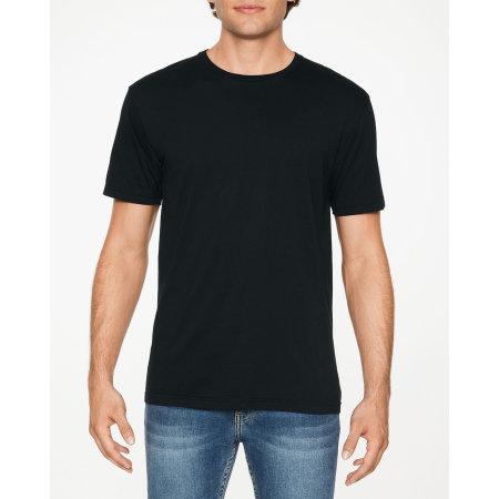 Softstyle Adult EZ Print T-Shirt in Pitch Black von Gildan (Artnum: G64EZ0