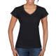 Thumbnail T-Shirts in Black: Softstyle® Ladies` V-Neck T-Shirt G64V00L von Gildan