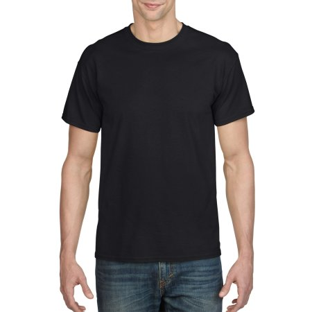 DryBlend® T-Shirt in Black von Gildan (Artnum: G8000