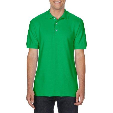 Premium Cotton® Double Piqué Polo in Irish Green von Gildan (Artnum: G85800