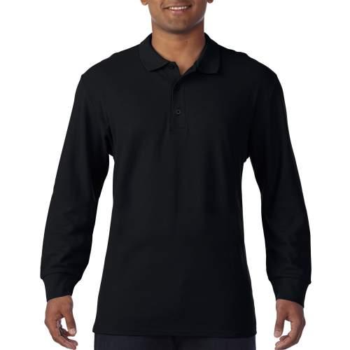 Gildan - Premium Cotton® Long Sleeve Double Piqué Polo