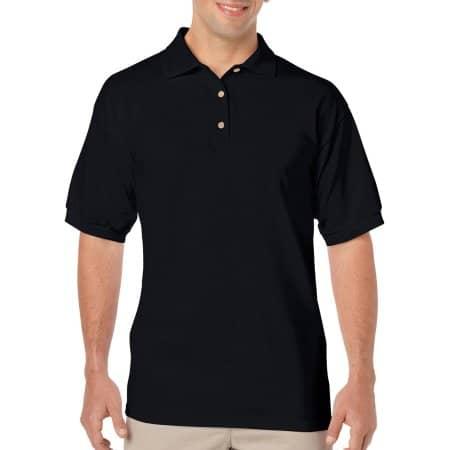 DryBlend® Jersey Polo in Black von Gildan (Artnum: G8800