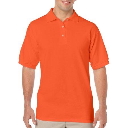 DryBlend® Jersey Polo in Orange von Gildan (Artnum: G8800