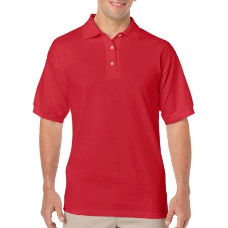 DryBlend® Jersey Polo in Red von Gildan (Artnum: G8800