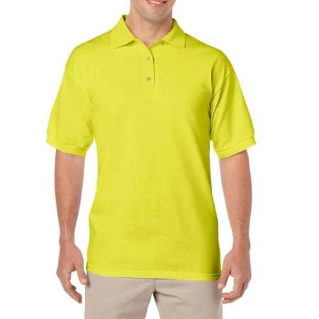 DryBlend® Jersey Polo in Safety Green von Gildan (Artnum: G8800