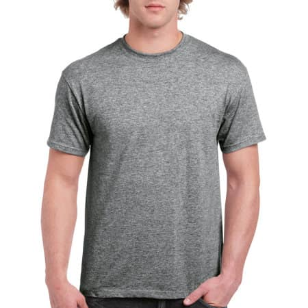 Hammer Adult T-Shirt in Graphite Heather von Gildan (Artnum: GH000