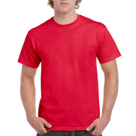 Hammer Adult T-Shirt in Sport Scarlet Red von Gildan (Artnum: GH000