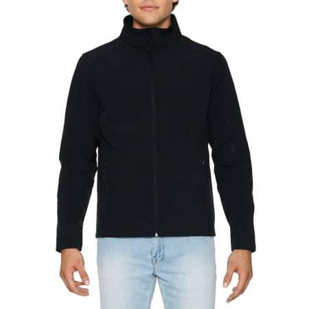 Hammer Unisex Softshell Jacket von Gildan (Artnum: GSS800