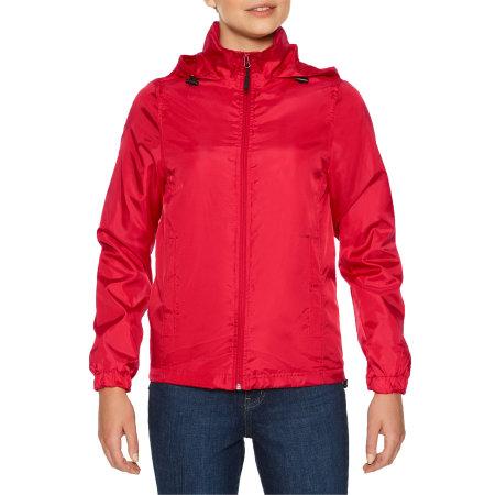 Hammer Ladies Windwear Jacket von Gildan (Artnum: GWR800L