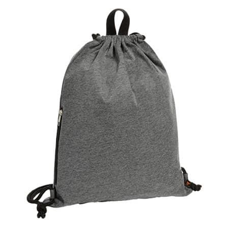 Drawstring bag Jersey von Halfar (Artnum: HF4002