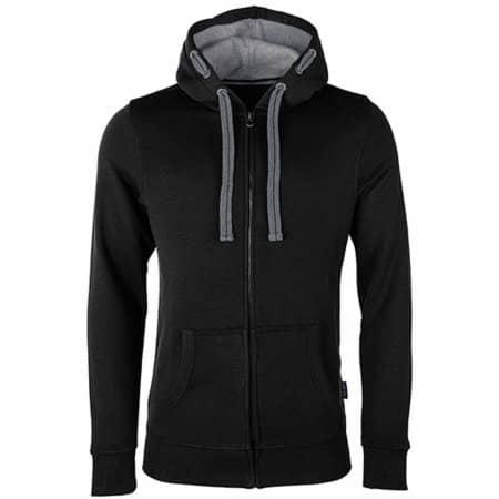 Men´s Hooded Jacket in Black von HRM (Artnum: HRM701