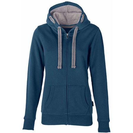 Women´s Hooded Jacket in Denim von HRM (Artnum: HRM801