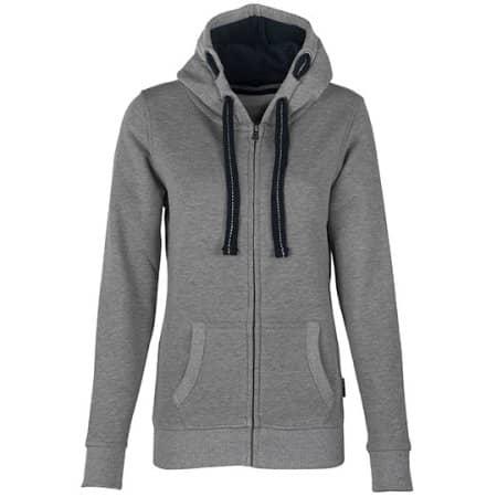 Women´s Hooded Jacket in Grey Melange von HRM (Artnum: HRM801