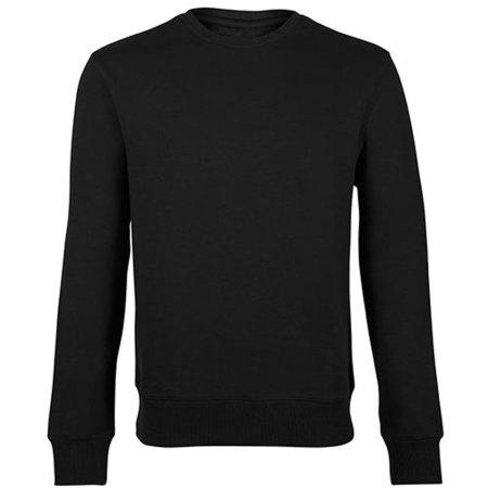 Unisex Sweatshirt in Black von HRM (Artnum: HRM902