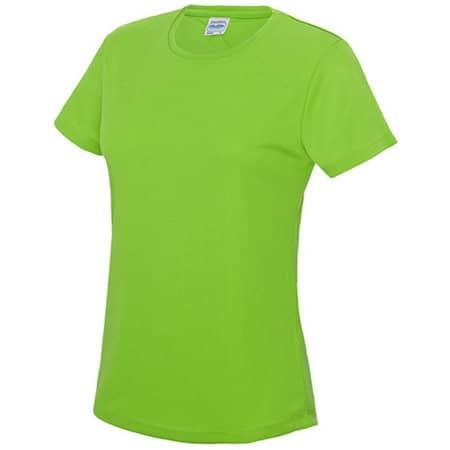 Girlie Cool T in Electric Green von Just Cool (Artnum: JC005