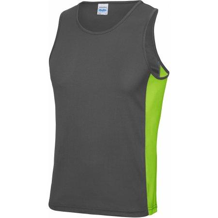 Men`s Cool Contrast Vest von Just Cool (Artnum: JC008