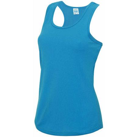 Girlie Cool Vest in Sapphire Blue von Just Cool (Artnum: JC015