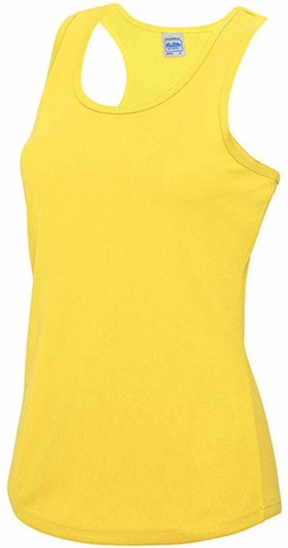 DAMEN SPORT TANK TOP JUST COOL  JC015 Girlie Shirt ärmellos FITNESS-XS-XL