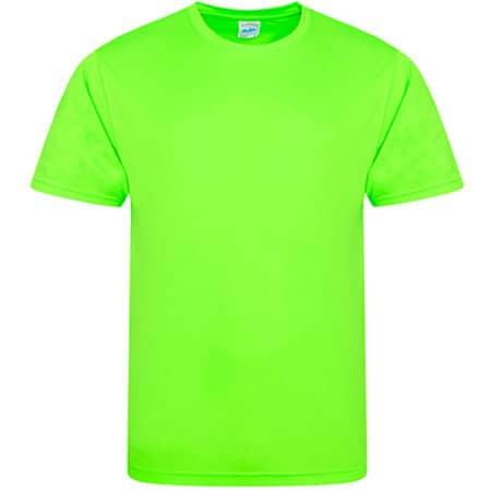 Cool Smooth T in Electric Green von Just Cool (Artnum: JC020