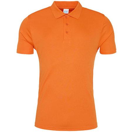 Cool Smooth Polo in Orange Crush von Just Cool (Artnum: JC021