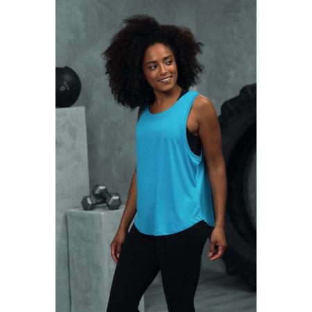 Girlie Cool Smooth Sports Vest von Just Cool (Artnum: JC026