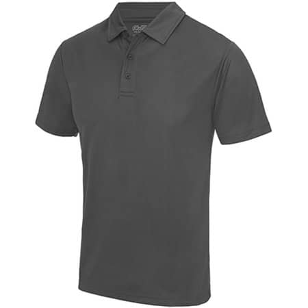 Cool Polo in Charcoal (Solid) von Just Cool (Artnum: JC040