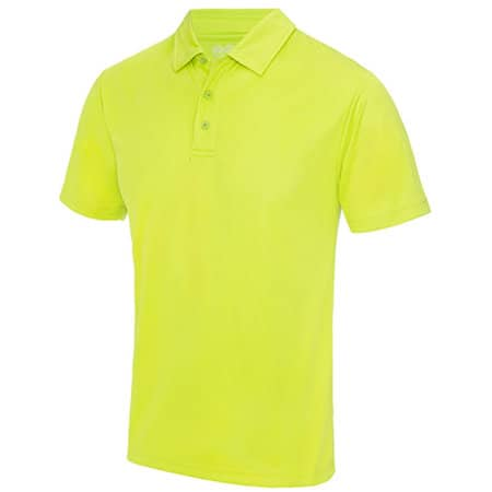 Cool Polo in Electric Yellow von Just Cool (Artnum: JC040