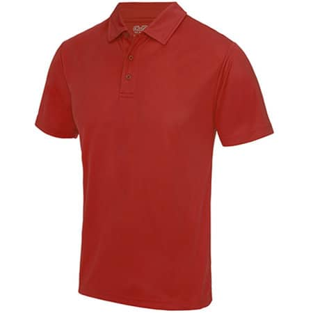 Cool Polo in Fire Red von Just Cool (Artnum: JC040