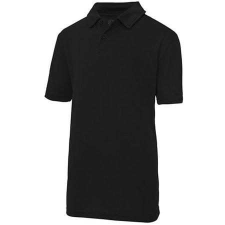 Cool Polo in Jet Black von Just Cool (Artnum: JC040