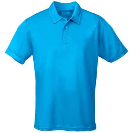 Kids` Cool Polo in Sapphire Blue von Just Cool (Artnum: JC040J