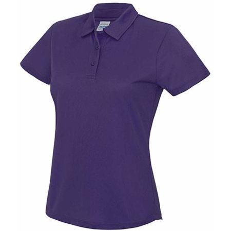 Girlie Cool Polo in Purple von Just Cool (Artnum: JC045