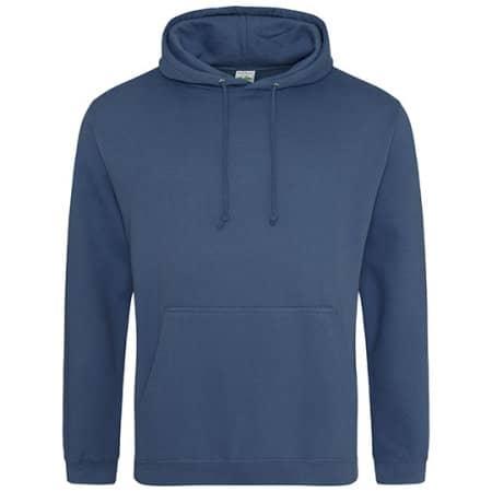 College Hoodie in Airforce Blue von Just Hoods (Artnum: JH001