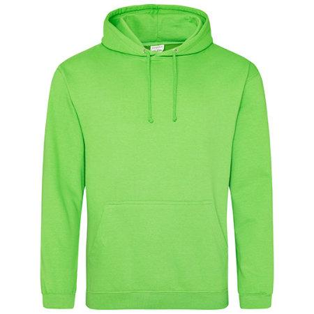 College Hoodie in Alien Green von Just Hoods (Artnum: JH001