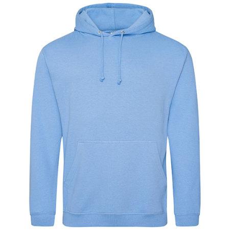 College Hoodie in Cornflower Blue von Just Hoods (Artnum: JH001
