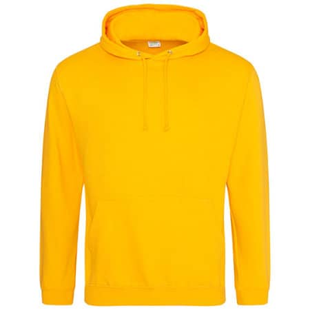 College Hoodie in Gold von Just Hoods (Artnum: JH001