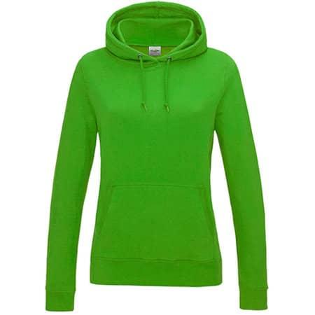 Girlie College Hoodie in Lime Green von Just Hoods (Artnum: JH001F