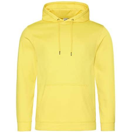 Sports Polyester Hoodie von Just Hoods (Artnum: JH006