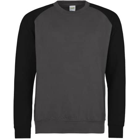 Baseball Sweat von Just Hoods (Artnum: JH033