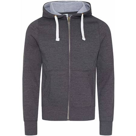 Chunky Zoodie in Charcoal (Heather) von Just Hoods (Artnum: JH052