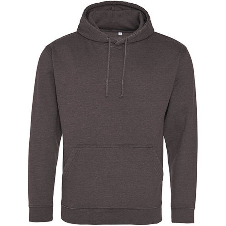 Washed Hoodie in Washed Charcoal von Just Hoods (Artnum: JH090