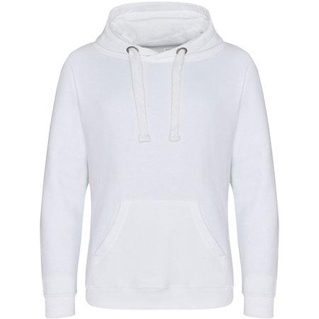 Graduate Heavyweight Hoodie in Arctic White von Just Hoods (Artnum: JH101