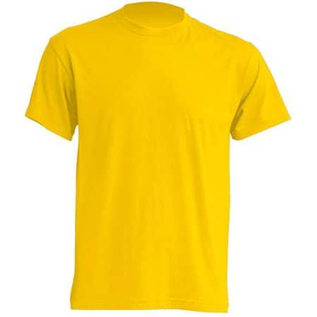 Regular T-Shirt in Gold von JHK (Artnum: JHK150