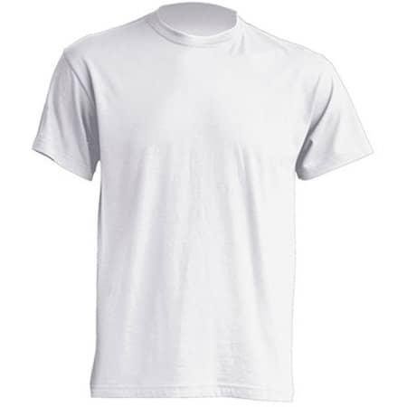 Regular T-Shirt in White von JHK (Artnum: JHK150