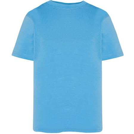 Kids` T-Shirt in Azure von JHK (Artnum: JHK150K