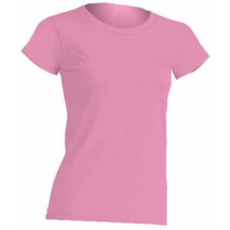 Regular Lady Comfort T-Shirt in Azalea von JHK (Artnum: JHK152