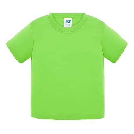 Baby T-Shirt in Lime von JHK (Artnum: JHK153k
