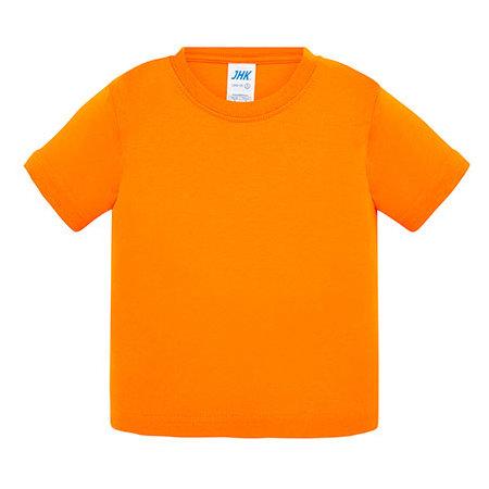 Baby T-Shirt in Orange von JHK (Artnum: JHK153k