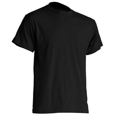 Regular Premium T-Shirt in Black von JHK (Artnum: JHK190